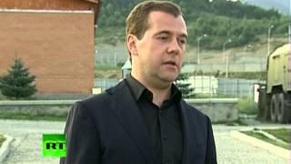 """Медведев: """"Решение по ракетному удару принял в 4 утра"""""""