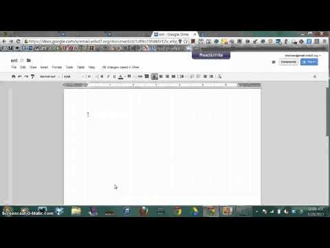 File Permissions in Google Docs