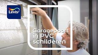 Hoe schilder je PVC (Buiten) ?(Een pvc-garagepoort schilderen. Vroeger zou men zeggen: 'Die verf bladdert er zó weer af'. Maar met het gebruik van de juiste primer & producten is dat niet zo., 2012-09-13T08:46:10.000Z)