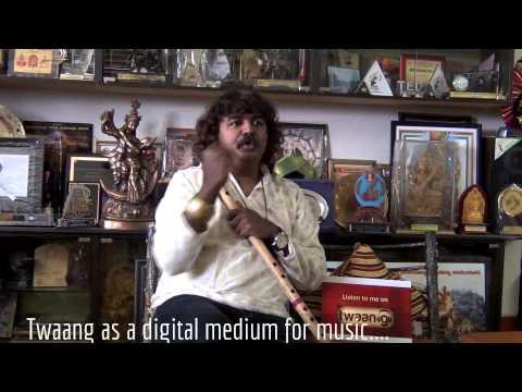 Pravin Godkhindi on Twaang - mobile music library [HD]
