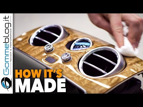 CAR FACTORY: How It's Made BENTLEY Wood Shop - BEST Luxory Car Interior Making Of Manufacturing