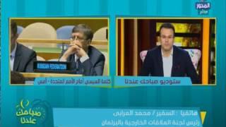 بالفيديو.. العرابي: خطاب السيسي أمام الأمم المتحدة يعكس التقدم الذي حدث في مصر