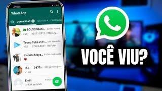 Nova Atualização do WhatsApp 2019 CHEGOU AÍ?