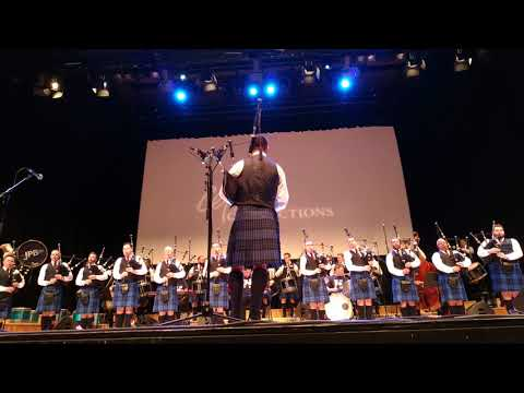 Johnstone Pipe Band @ Celtic Connections 2018 (Opener)