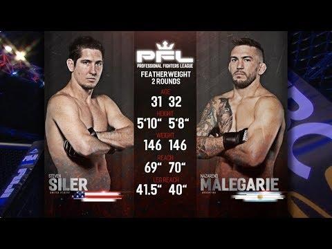 PFL Full Fight Friday: Steven Siler vs. Nazareno Malegarie from PFL Playoffs: New Orleans