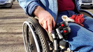 видео Электрическая инвалидная коляска (скутер) Vermeiren Venus-4 Sport