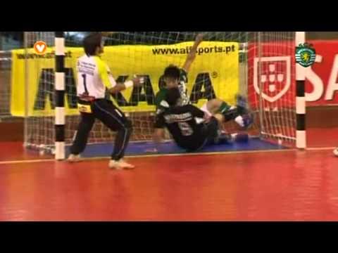 Futsal ::  Play-off M/F 3º Jogo ::Sporting - 5 x Fundão - 1 de 2010/2011