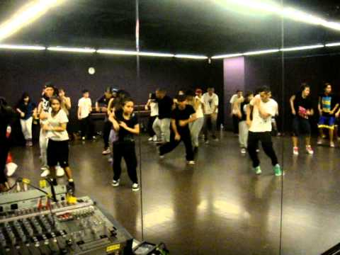 Aaliyah - Try Again choreo by Zaihar (13th Jan 2011)