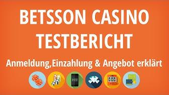 betsson Casino Testbericht: Anmeldung & Einzahlung erklärt [4K]