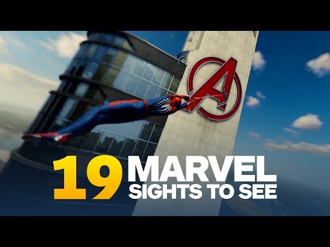 19 Comic Book Locations to See In Marvel's Spider-Man