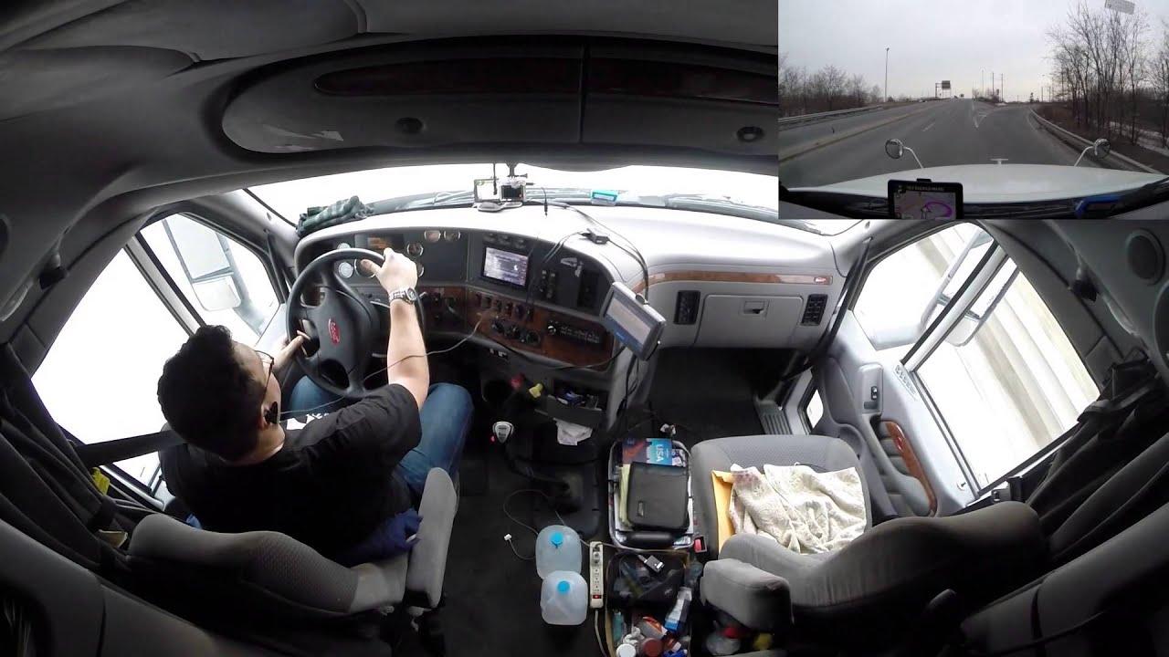 De Volta ao Peterbilt 587 - Saindo de Viagem - Vlog18rodas - YouTube