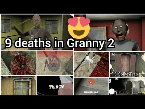 Caught Battle #6 All 9 ways to die in Granny Chapter 2 ☠👵