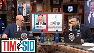 Ken Holland Wanted To Give Edmonton Oilers A Boost With Moves At NHL Trade Deadline | Tim And Sid
