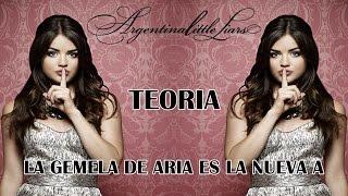 """Pretty Little Liars - Teoria """"La gemela de Aria es el nuevo A"""""""
