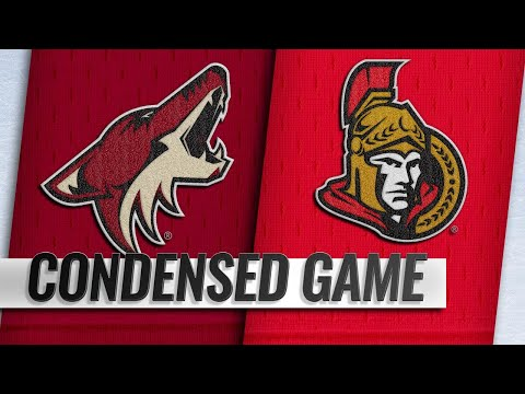 01/22/19 Condensed Game: Coyotes @ Senators