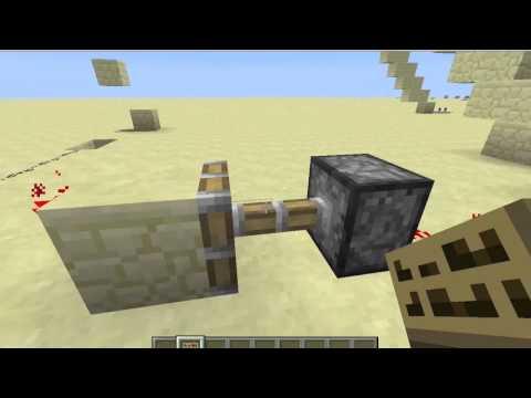 Minecraft Rube Goldberg Contraption, Cool Domino Effect!