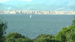 Segeln vor Palma de Mallorca - Selgelrevier Mallorca, Balearen? Sailing in Majorca Spain
