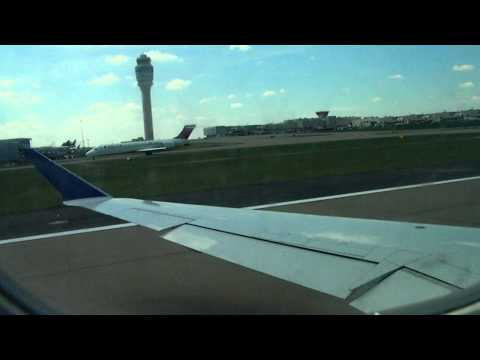 Knoxville to Fort McMurray -real flight footage-