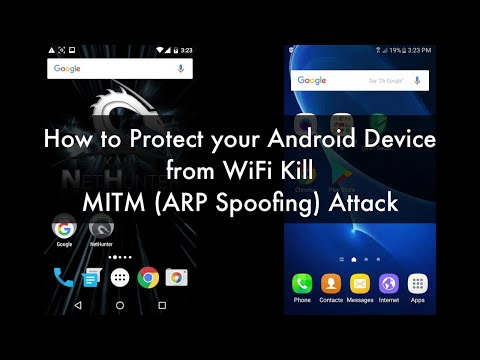 How To Protect Your Android Device From WiFi Kill (ARP Spoof) Attack. Free Apps Tested With Results.