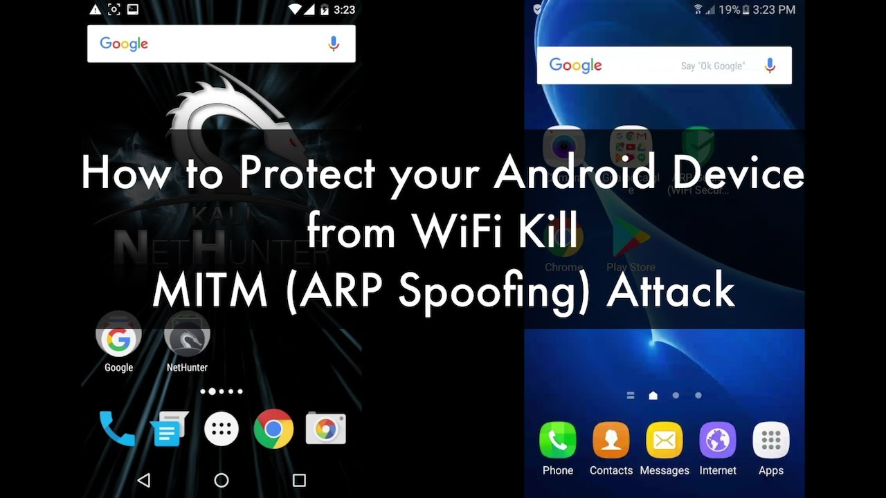 How to Protect your Android Device from WiFi Kill (ARP Spoof) Attack  Free  Apps Tested with Results