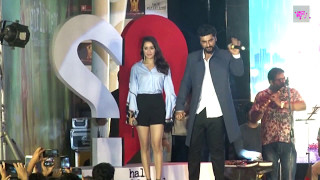 Shraddha Kapoor & Arjun Kapoor at Half Girlfriend Music Concert