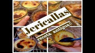 JERICALLAS - receta antigua - LECHE ASADA  - Lorena Lara