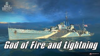 World of Warships - God of Fire and Lightning