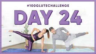 Day 24: Kneeling Attitude Line! | 100 Glute Challenge w/ Kyle Hanagami