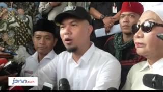 Ijin Unjuk Rasa Tangkap Ahok Ditolak Ahmad Dhani Kecewa Berat