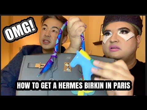 HOW TO BUY A HERMES BIRKIN IN PARIS
