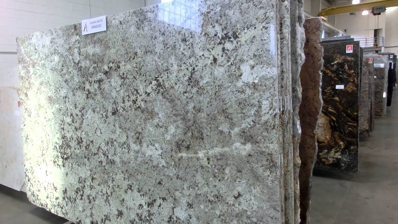 Alaska White Granite Youtube