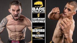 "BKFC 5 Full Fight ""Brutal"" Johnny Bedford vs. Abdiel Valazques"