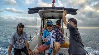 基隆嶼船釣黃雞魚  イサキ狙い