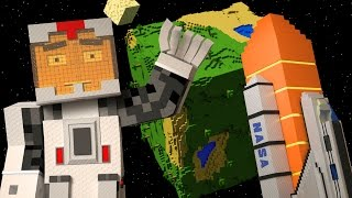 Space Mission: Alien Attack Animated! (Minecraft Animation)