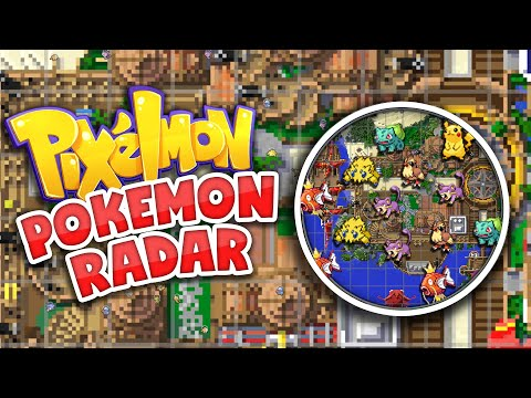 How To Get The Ultimate Pokemon Radar! | Pixelmon: Pokecentral | Journey Map