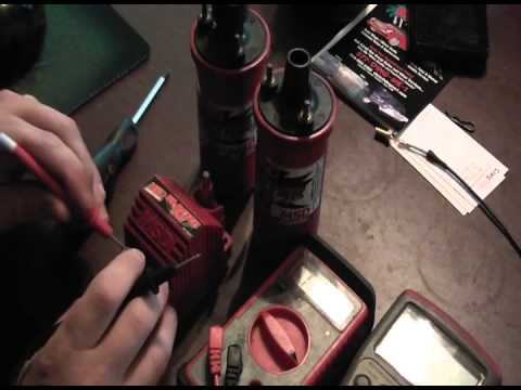 MSD ignition coil test repair
