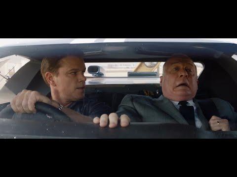 Кэрролл Шелби показывает машину Генри Форду II. \ Ford против Ferrari