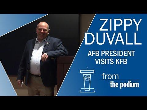 American Farm Bureau President Zippy Duvall Visits KFB