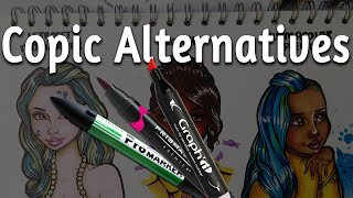 My COPIC MARKER ALTERNATIVES | Jenna Drawing