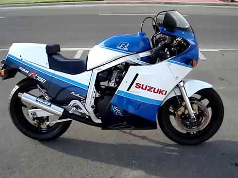 Suzuki Gsx R 750 1987 Gr75a Sound Vance Amp Hines Youtube