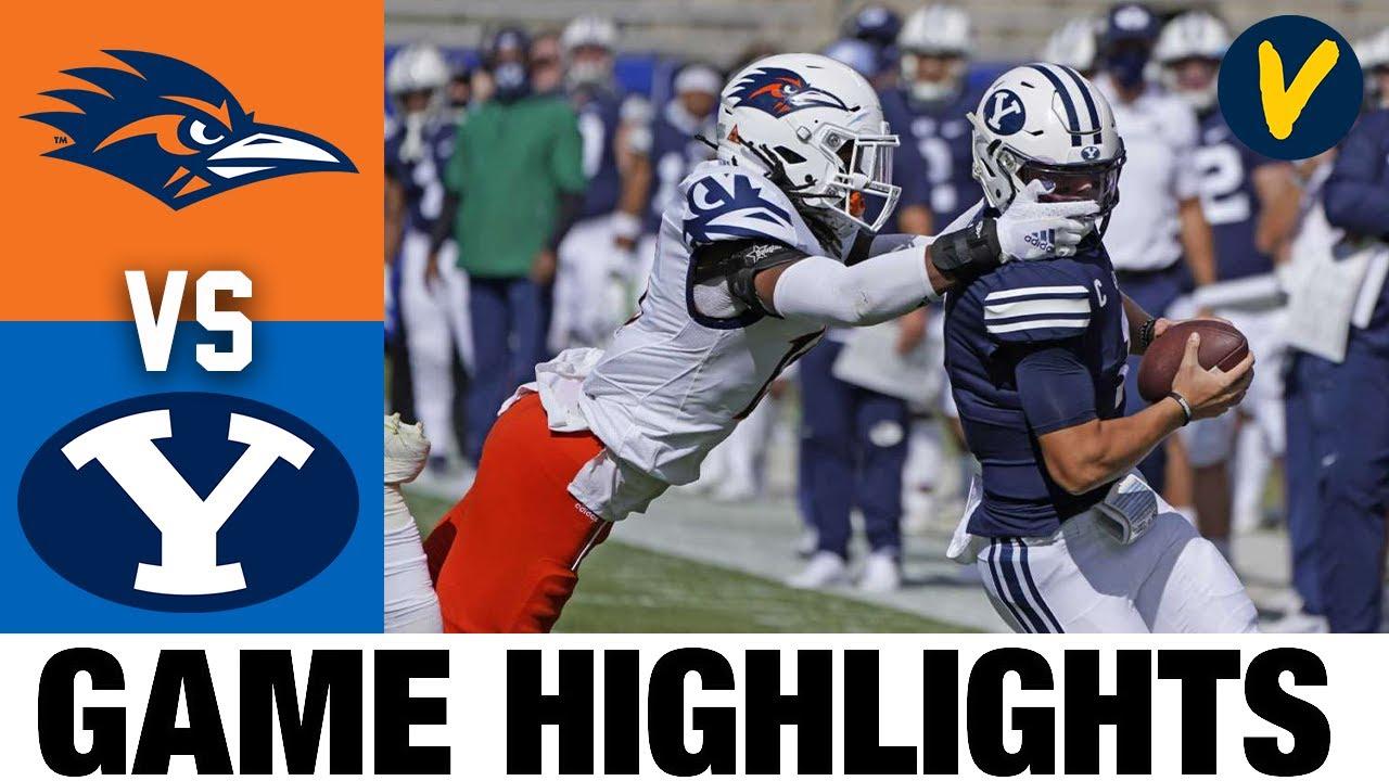 UTSA vs #15 BYU Highlights | Week 6 College Football Highlights | 2020 College Football