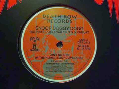 Snoop Doggy Dogg - Ain't No Fun (Extra Clean Version)