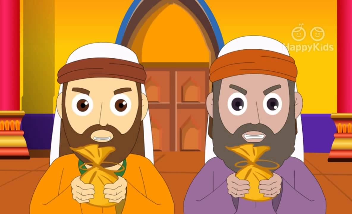 jesus and the tax collector bible stories for children youtube