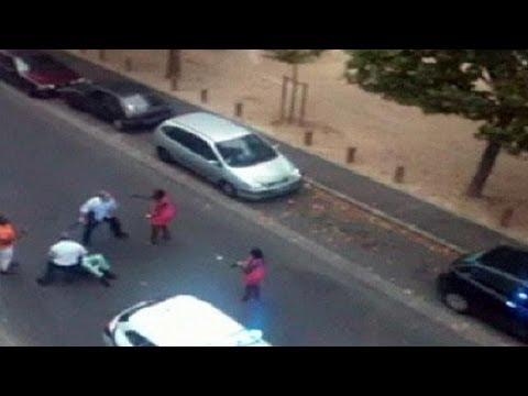 Una agresiva actuación policial en Francia se convierte en viral en la red
