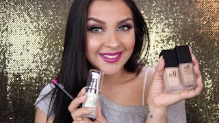 Makeup Tutorial Using Only Elf Cosmetics Products || Lifeofval || Valerie Soto