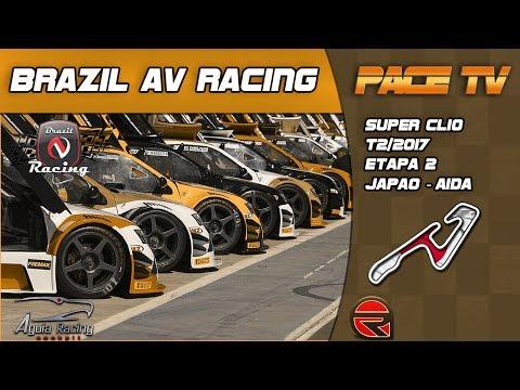 BRAZIL AV RACING -SUPER CLIO - T2/2017 - 2ª ETAPA - AIDA  - JAPÃO