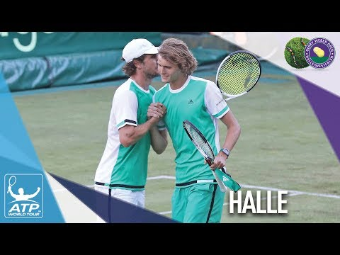 Zverev Brothers In Top 30 Together Halle 2017