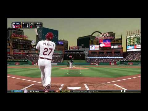 MLB 15 The Show Brewers @ Cardinals 2016 Game 20