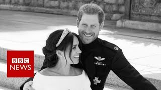 Royal wedding photographer on Meghan and Harry's 'beautiful moment' - BBC News