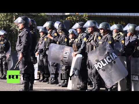 Peru: Southern Copper mine protests sweep Arequipa